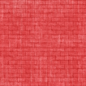 Our House Collab- Red Brick Pattern Paper