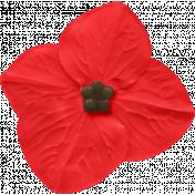 Our House Nov2014 Blog Train- Little Red Flower