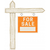 Our House Nov2014 Blog Train- For Sale Sign