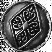 Spookalicious- Element Template- Vintage Button 02