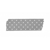 Spookalicious- Element Template- Polka Dot Tape Template