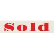 Our House Nov2014 Blog Train- Wordart- Sold Sign