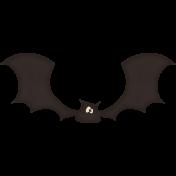 Spookalicious - Bat Sticker