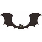 Spookalicious- Bat Sticker