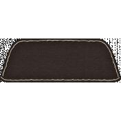Spookalicious- Black Blank Tab