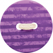 Spookalicious- Purple Striped Button