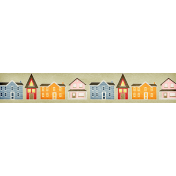 Our House Collab- Word Art- Houses Label- Multi