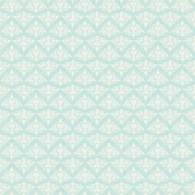 Dream Big Collab- Damask Lace Paper- Blue/White