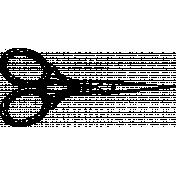 Its Vintage Brush Set 01- Scissors