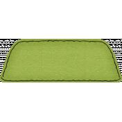 Spookalicious- Green Blank Tab
