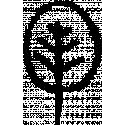 Autumn Art Doodle Brush- Leaf