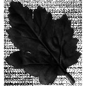 No Tricks, Just Treats Add-on - Black Oak Leaf