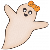 No Tricks, Just Treats Add-On- Girl Ghosty