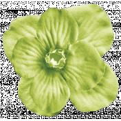 No Tricks, Just Treats Add-On- Green Vintage Flower
