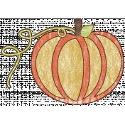 Autumn Art October Mini Kit- Pumpkin Doodle