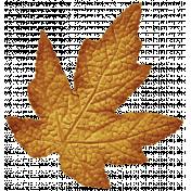 Autumn Art October Mini Kit- Golden Leaf