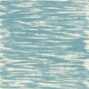 Autumn Art October Mini Kit- Blue Paper- Painted Strokes