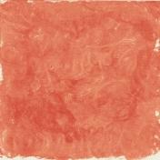 Autumn Art October Mini Kit- Orange Painted Swirls Paper