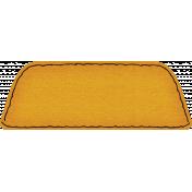 Spookalicious- Orange Blank Tab