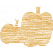 Spookalicious- Orange Pumpkin Stamp
