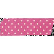 Spookalicious- Pink Polka Dot Tape