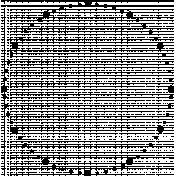 Clock Makers Brush- Outer Border- Polka Dots
