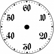 Clock Makers Brush- Subdial Design 01