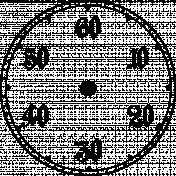 Clock Makers Brush- Subdial Design 02
