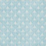 Nutcracker December BT Mini Kit- Blue Ornate Paper
