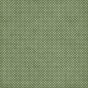 Nutcracker December BT Mini Kit - Green & White Polka Dot Paper