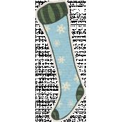 Nutcracker December BT Mini Kit- Snowflake Stocking Sticker