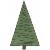 Nutcracker December BT Mini Kit- Green Christmas Tree Sticker