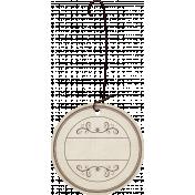 Nutcracker December BT Mini Kit- Tag with Ornament Hook