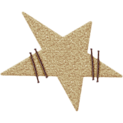 Nutcracker December BT Mini Kit- Tan Felt Star