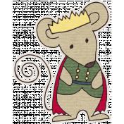 Nutcracker December BT Mini Kit- Mouse King Sticker