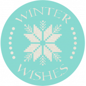 Sweater Weather- Winter Wishes Tag