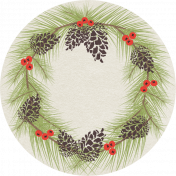 Sweater Weather- Wreath Tag