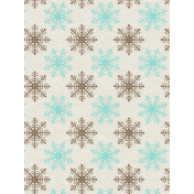 Sweater Weather- Journal Card- Snowflakes