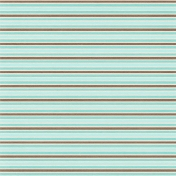 Sweater Weather Papers- Blue Brown Stripes
