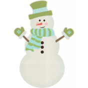 Sweater Weather- Snowman Sticker