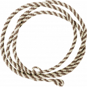 Sweater Weather- Brown Striped String Circle