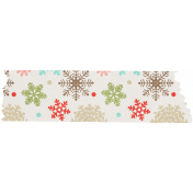 Sweater Weather- Colorful Snowflake Tape