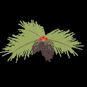 Sweater Weather- Pine Branch Sticker