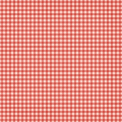Sweater Weather Papers- Red Gingham