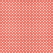 Sweater Weather Papers- Salmon Polka Dots