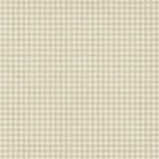 Sweater Weather Papers- Tan Gingham