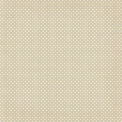 Sweater Weather Papers- Tan Polka Dots
