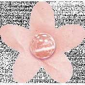 Birthday Wishes- Pink Paper Flower