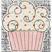 Birthday Wishes- Pink Cupcake