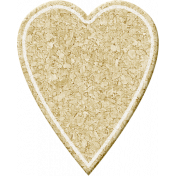 Birthday Wishes- Cork Board Heart